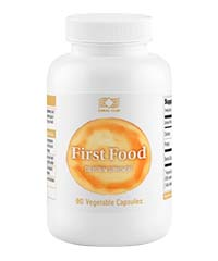 Молозиво, Фёрстфуд, Колострум,  FirstFood, Colostrum с нанокластерами (90 капсул)