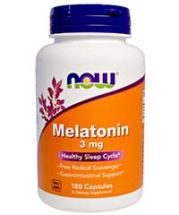 Мелатонин / Melatonin, 3 мг. 180 капс.