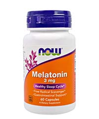 Мелатонин / Melatonin 60 капс. по 3 мг.