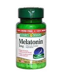 Мелатонин / Melatonin 1 мг, 180 табл