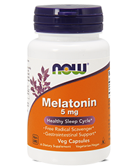 Мелатонин / Melatonin, 5 мг. 180 капс.