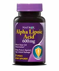Альфа-липоевая кислота / Alpha Lipoic Acid (600 мг) 30 капс